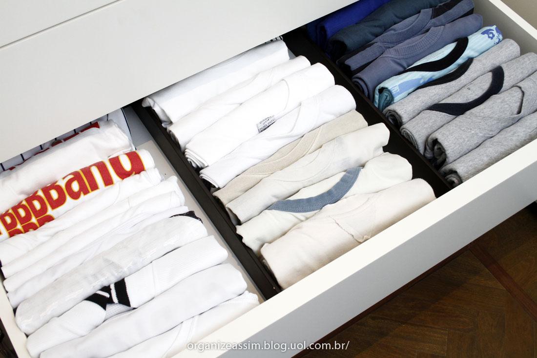 Administraci n del espacio c mo organizar tu closet my - Como doblar ropa interior ...